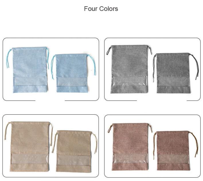 Drawstring Shoe Bags Four Colors