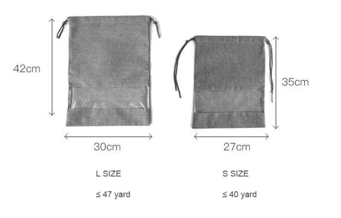 Drawstring Shoe Bags Two Sizes