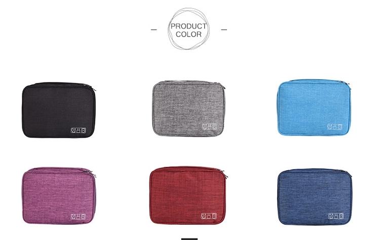 Electronics Travel Case Colors