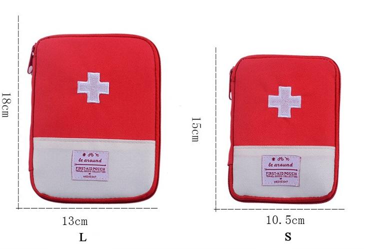 Medicine Storage Bag Size