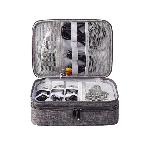 Multi Functional Electronics Travel Case