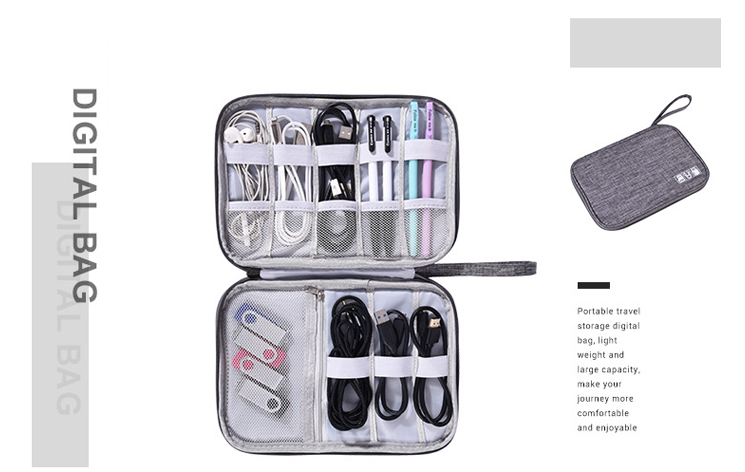 Travel Cable Organizer Inner Structure