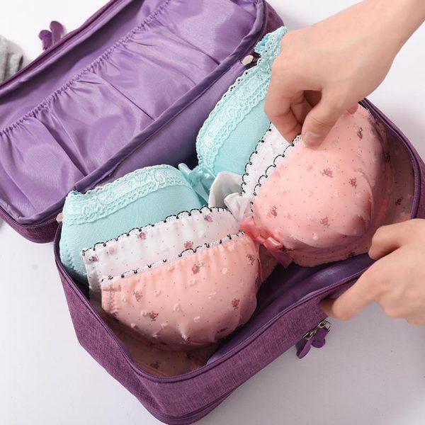 Travel Underwear Organizer Bras