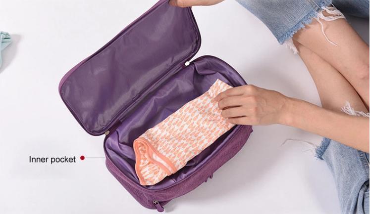 Travel Underwear Organizer Wholesale Inner Pocket