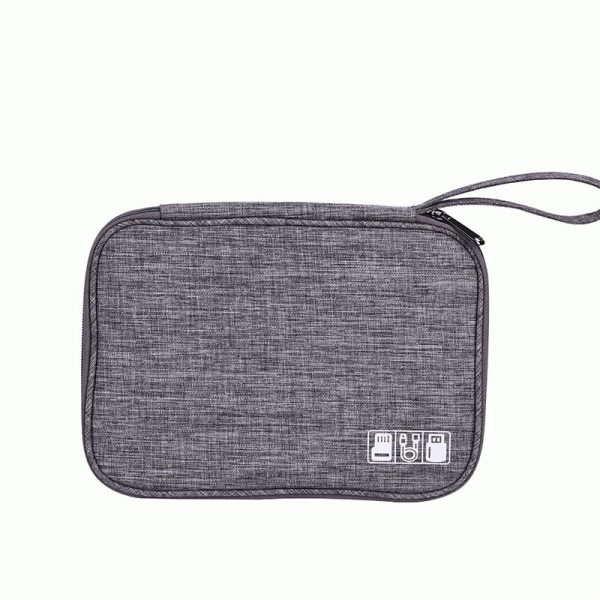 Waterproof Travel Cable Organizer Front Side