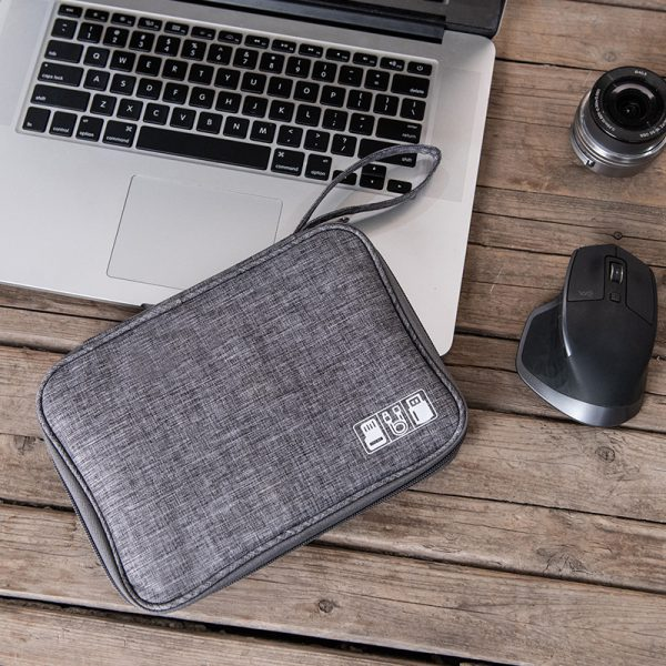 Waterproof Travel Cable Organizer Gray