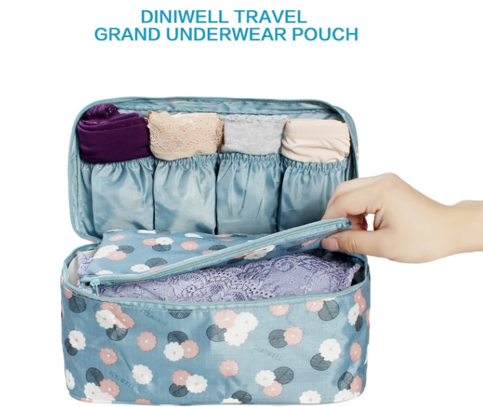 underwear travel bag partition