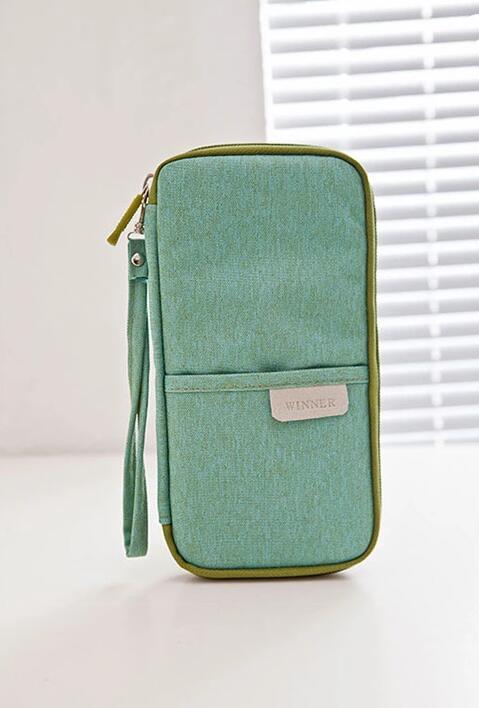 wholesale passport cover green color