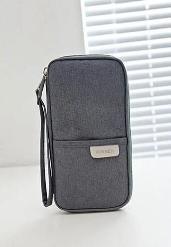wholesale passport cover grey color