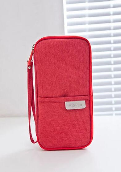 wholesale passport cover red color