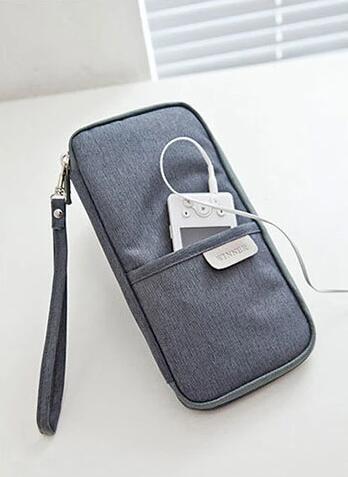 wholesale travel passport cover grey