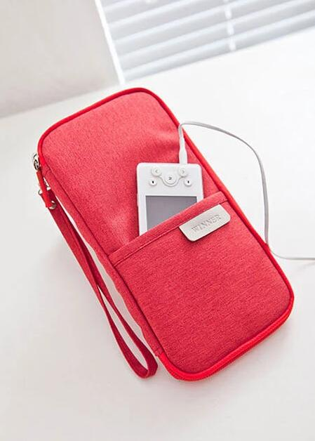 wholesale travel passport cover red color