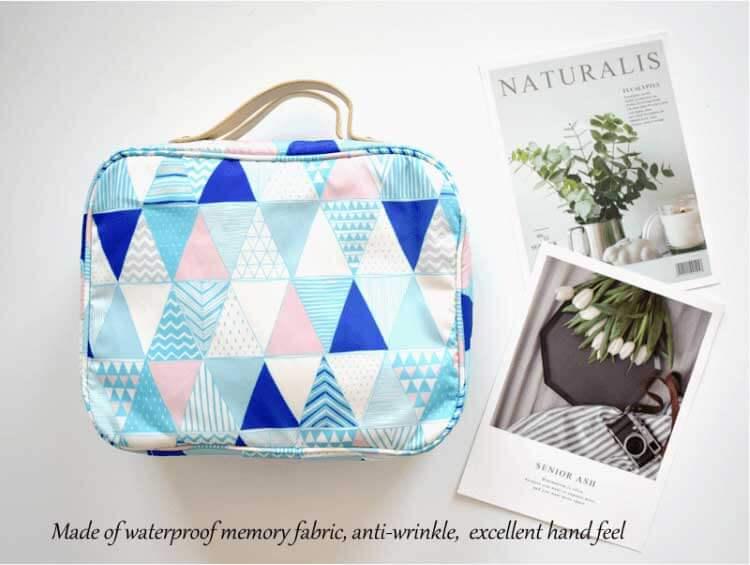 makeup pouch wholesale blue color