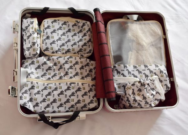 travel compression packing set two colors