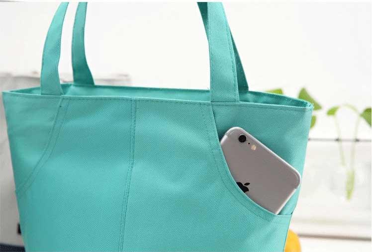 cooler tote bag outside pockets