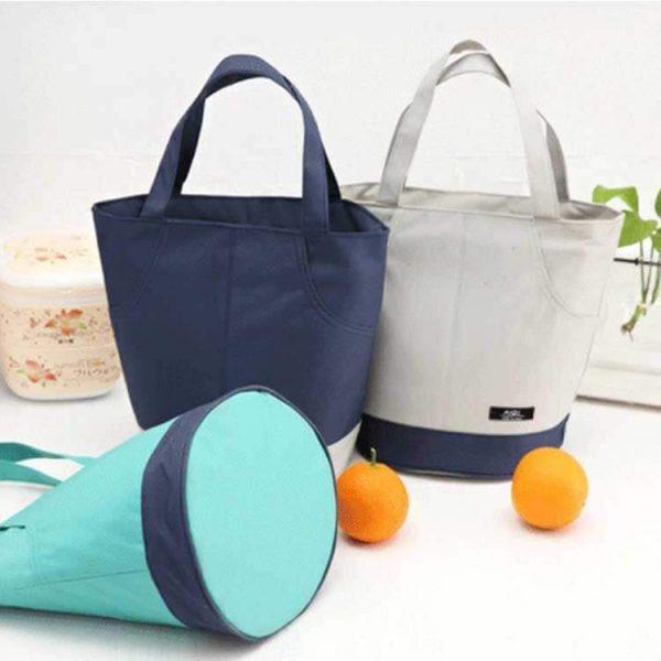 cooler tote bag white