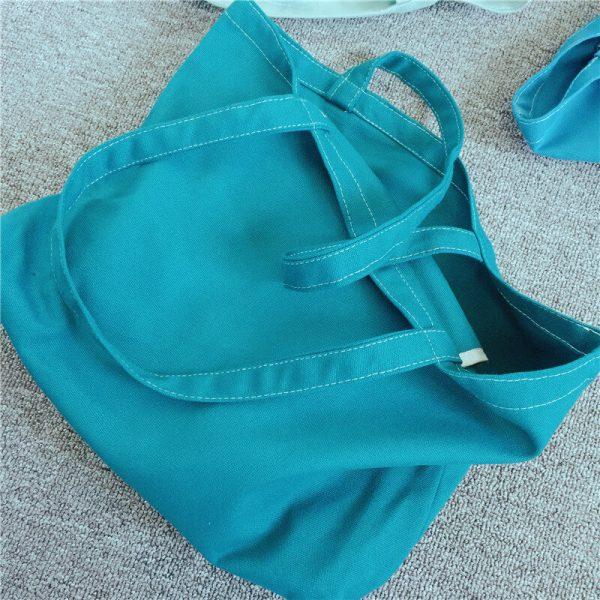 custom shopping bags wholesale blue