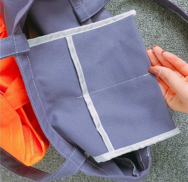 custom shopping bags wholesale inner pockets