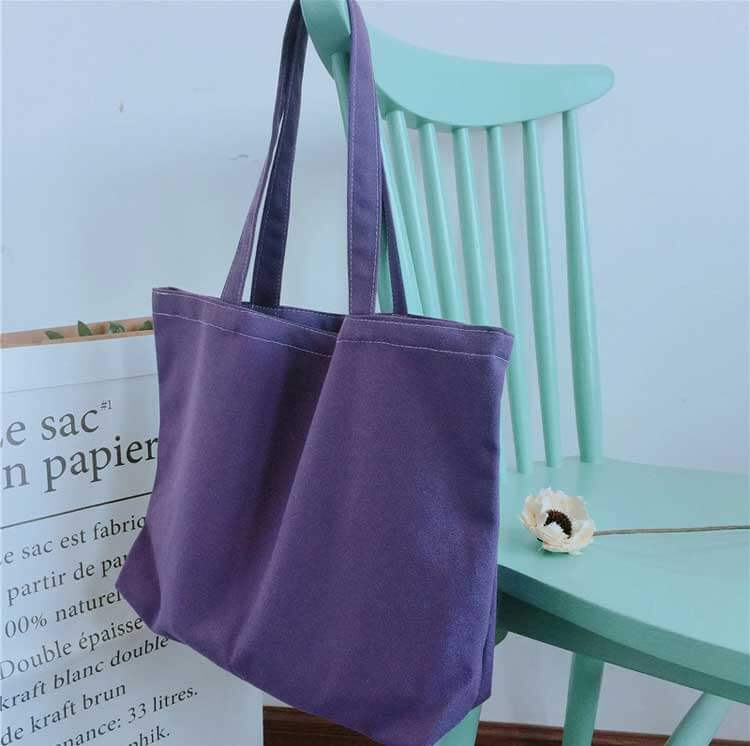 custom shopping bags wholesale on the chair