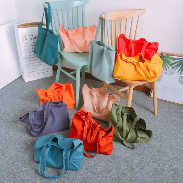 custom shopping bags wholesale with different colors