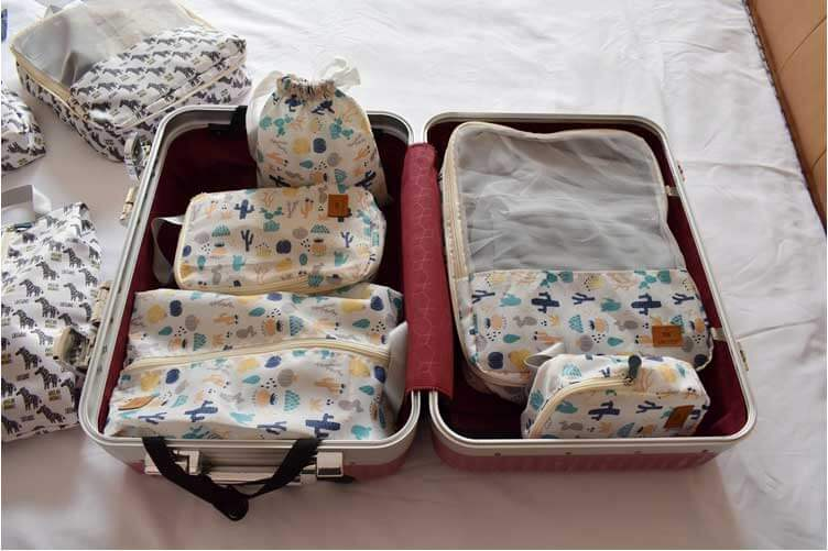 luggage storage pouches wholesale