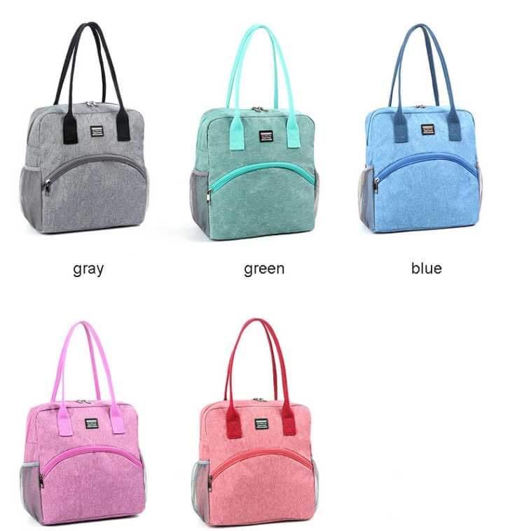 picnic tote bag different colors
