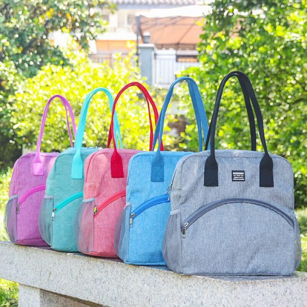 picnic tote bag five colors