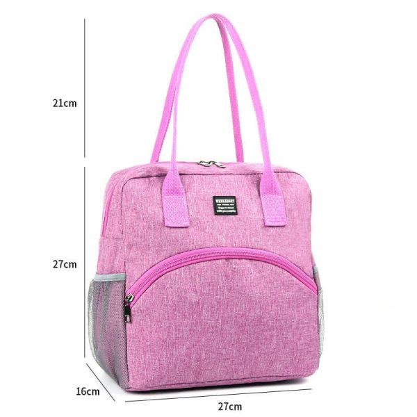 picnic tote bag pink