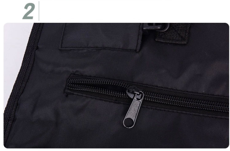 zipper of hanging washbag